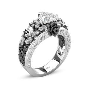 76aaf58dac1bb Skull Rings,Womens Skull Rings,Sterling Silver Skull Ring,Cool Skull ...